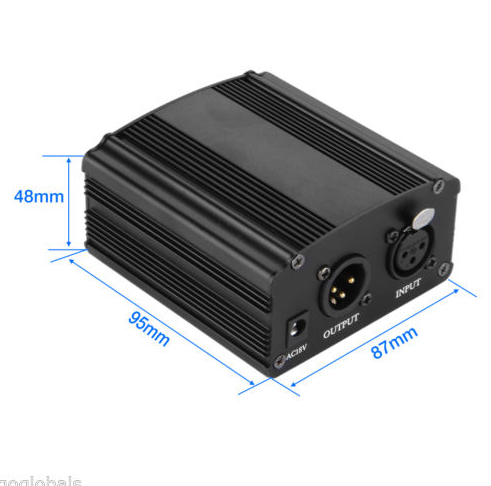 48V Phantom Power Supply